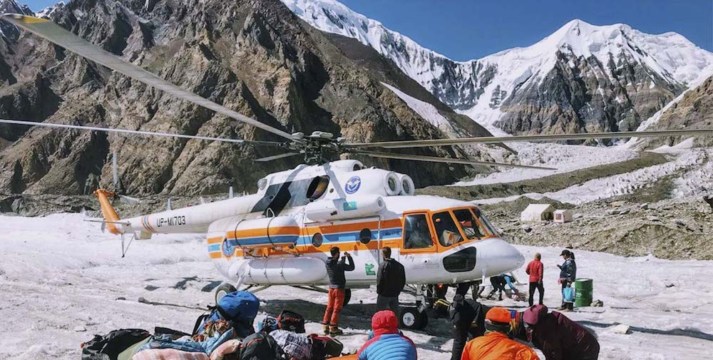 khan tengri expedition