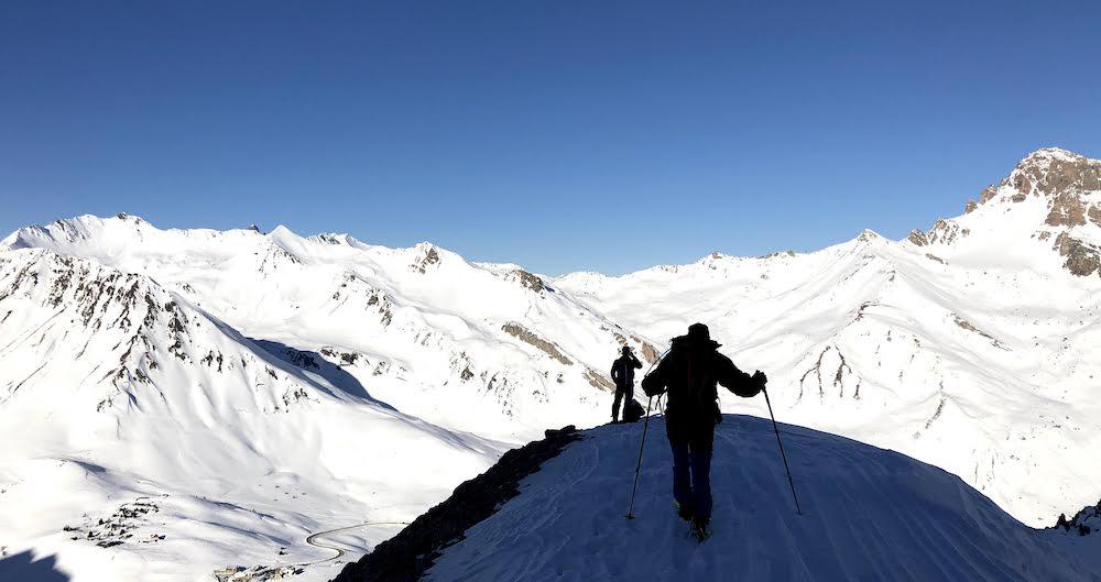 initiation au ski de randonnée