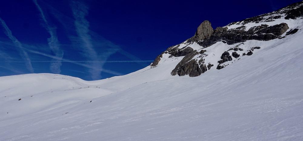 le tour du Goléon en hiver