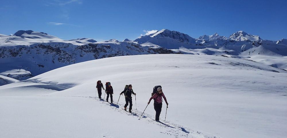 Peu de monde en montagne et une équipe qui fonctionne plutôt bien.