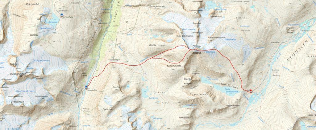 haute route de Jotunheimen