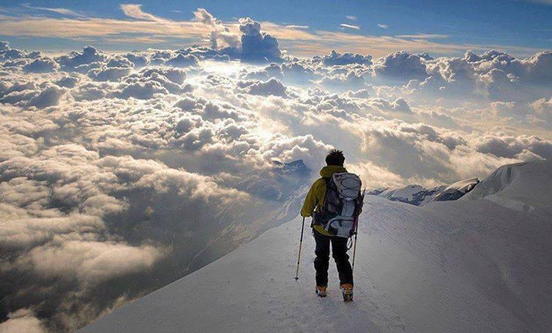 la Corse en raquette alpine