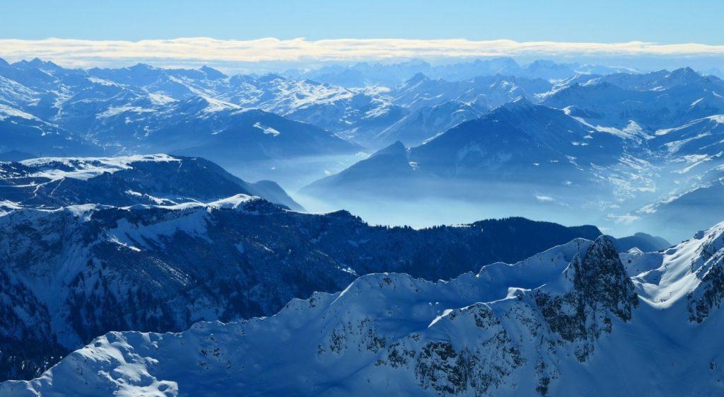 ski de randonnée en beaubortain