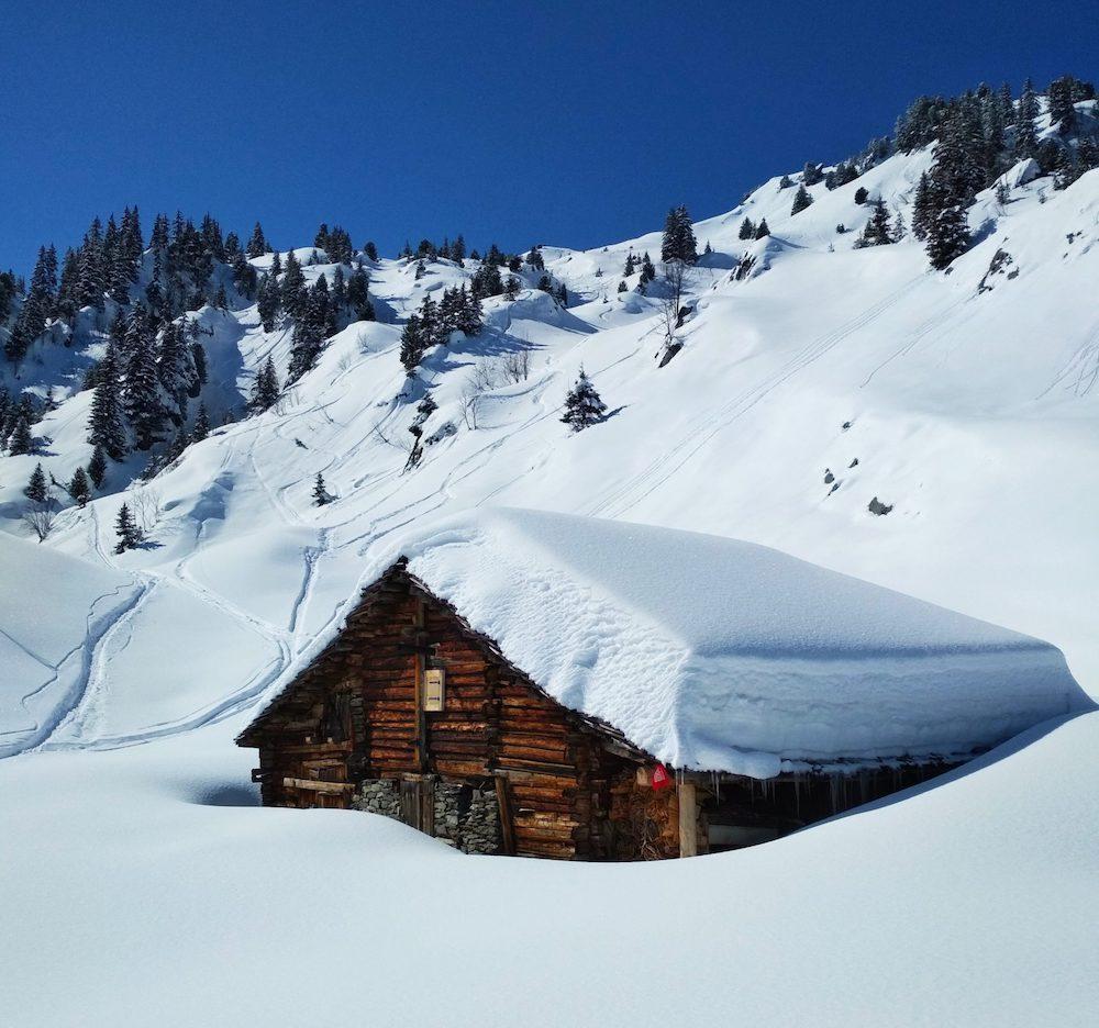 ski de randonnée en Beaufortain