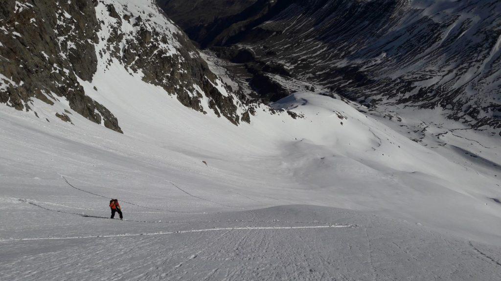 séjour de ski d randonnée au refuge de chamoissière