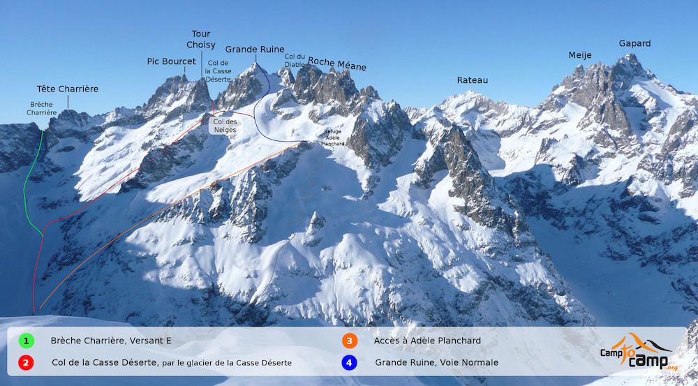 perfectionnement au ski de randoc