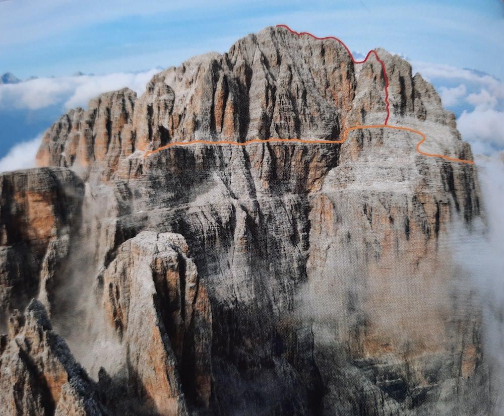 dolomites, massif de la Brenta