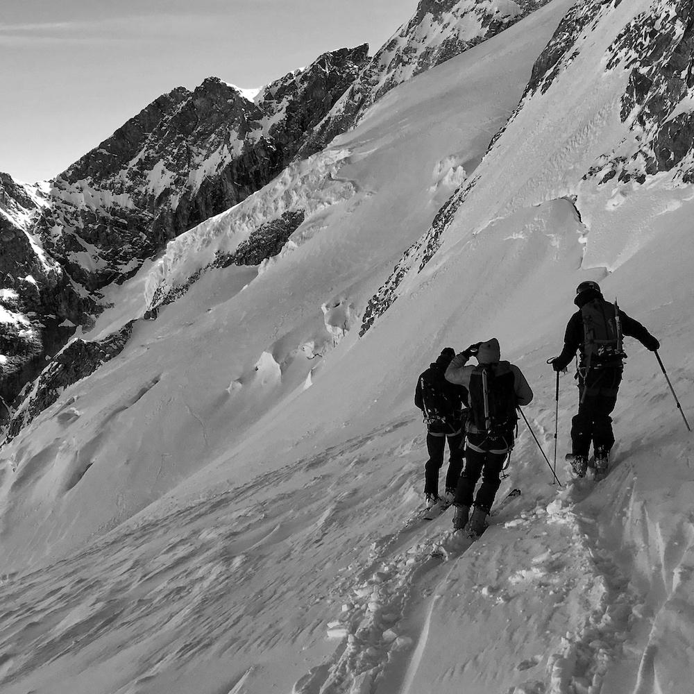 le tour de la meije à ski