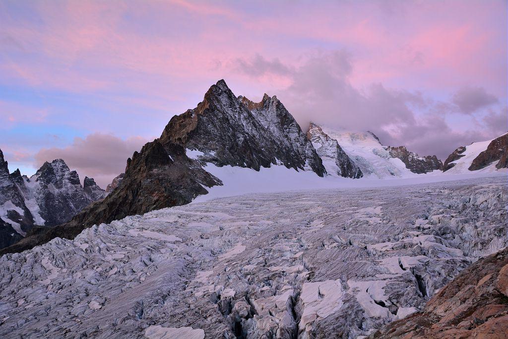 l'intégral du tour des écrins par les glaciers