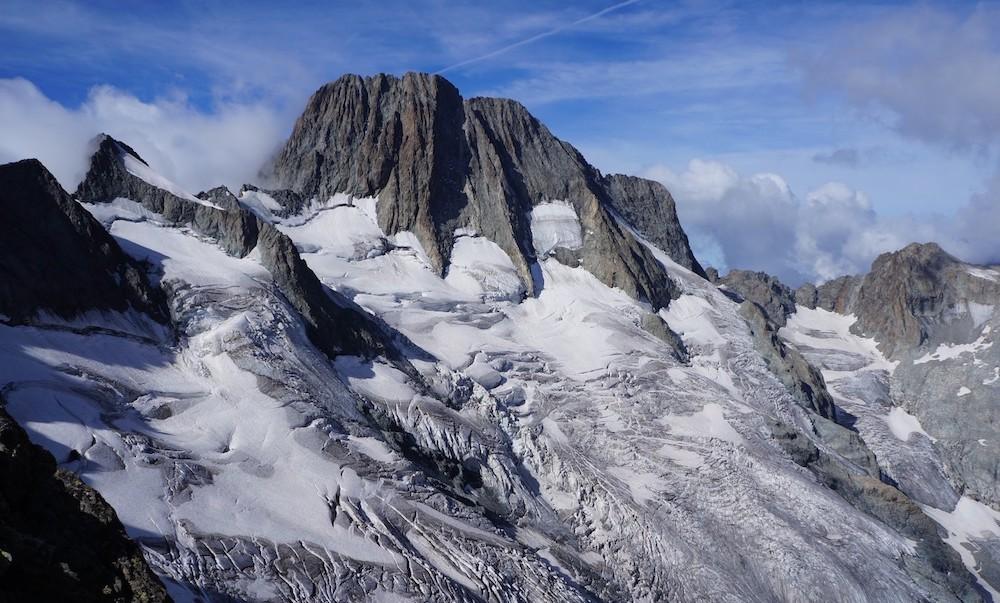 le haut tour des écrins par les glaciers