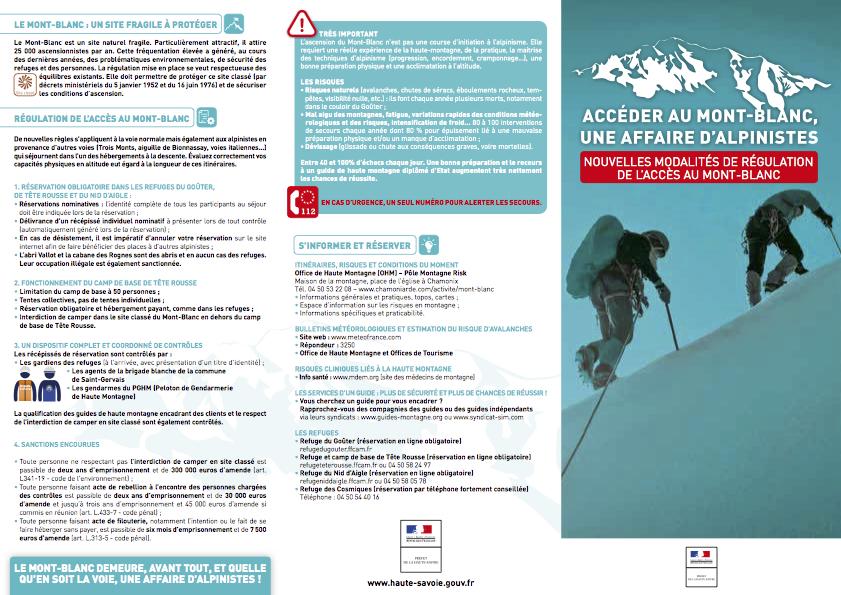 le mont blanc by fear means