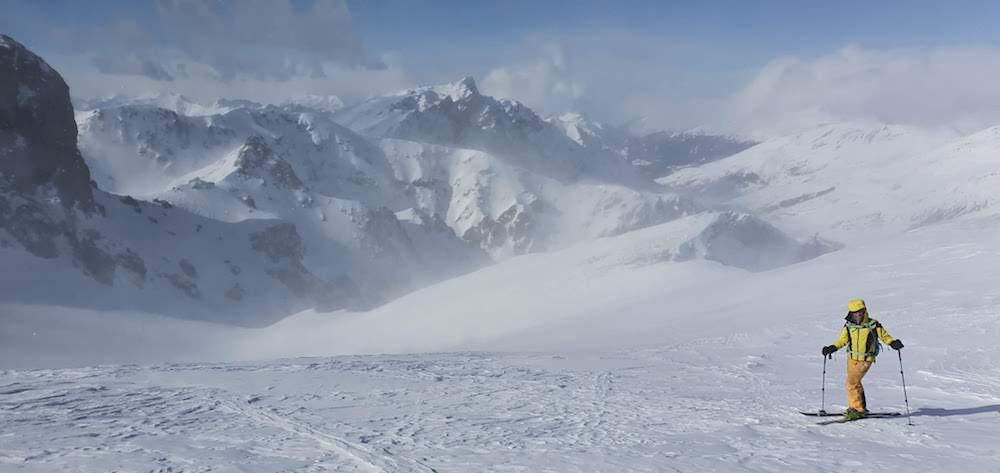 initiation au ski de randonnée en Queyras