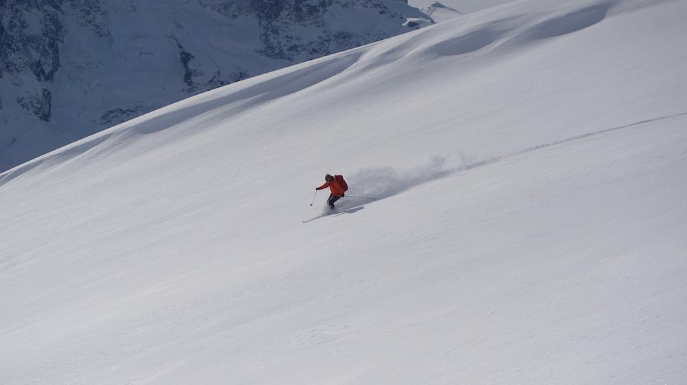 ski de randonnée à La Grave