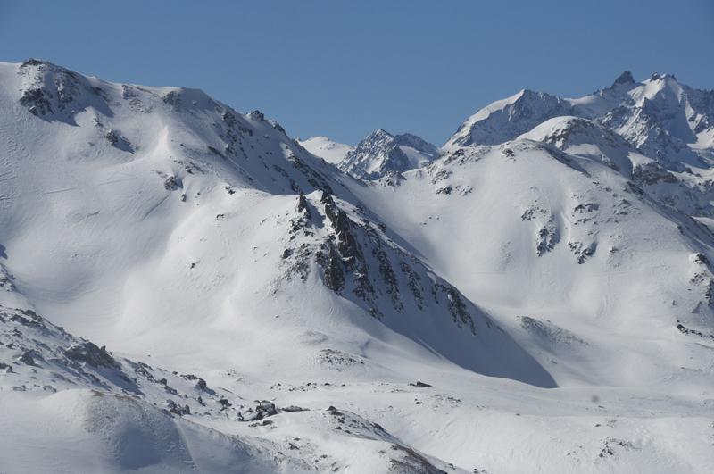 raquette alpine dans les Cerces