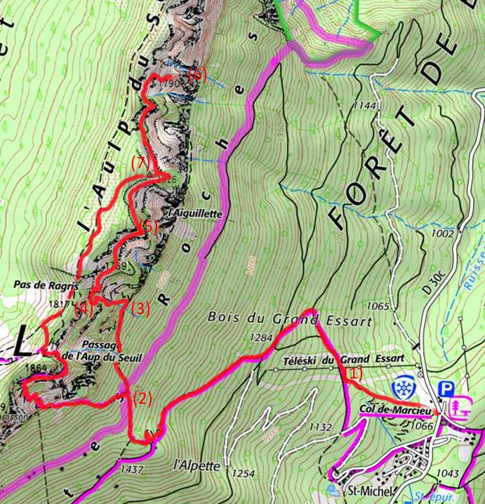 le tour des Hauts de Chartreuse